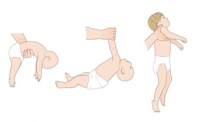 Как научить ребенка переворачиваться с живота на спину, со спины на живот: правильные упражнения и тренировки в 3-4 месяца (+ видео)