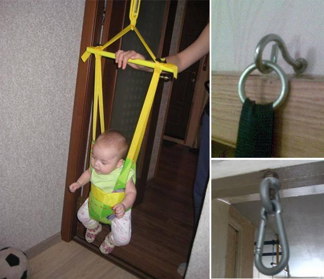 Особенности использования детских прыгунков