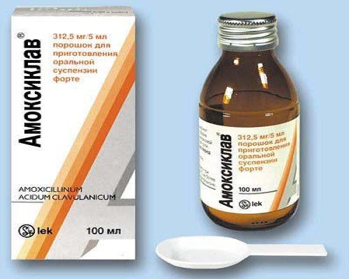 Амоксиклав (суспензия) для детей: подробный обзор препарата