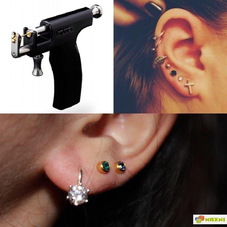Прокол ушей пистолетом детям: как обрабатывать после прокалывания и как ухаживать, обработка ушей, прокол без боли