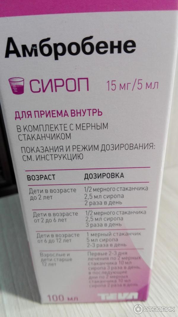 """Таблетки """"амбробене"""" для детей: инструкция по применению"""