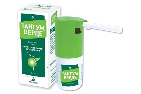 Эффективные спреи и аэрозоли при боли в горле