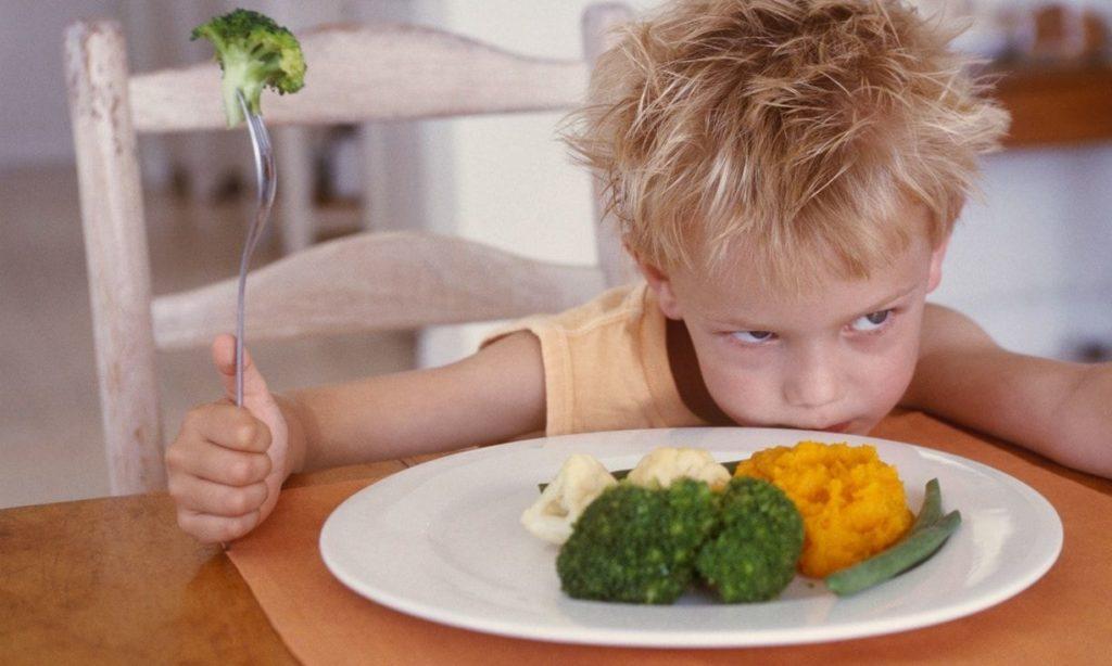 Мой ребенок не ел прикорм