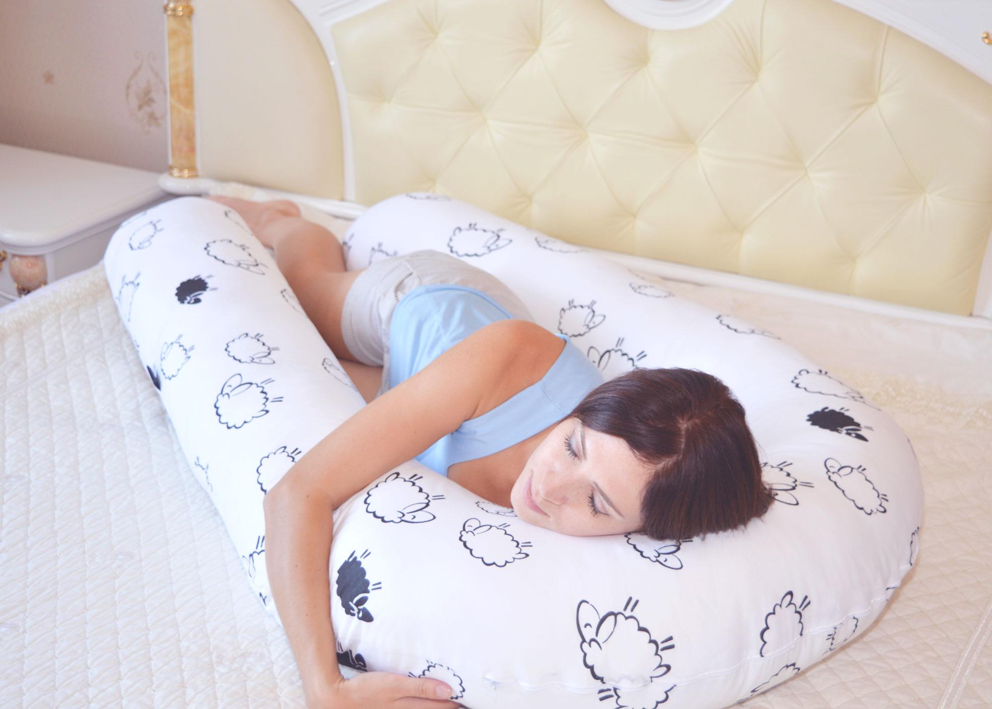 Разновидности ортопедических подушек для беременных: кому подходит г, i, g или u-образная форма, какой наполнитель и ткань наволочки выбрать