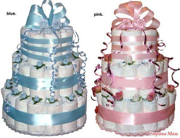 Как сделать торт из памперсов :: инфониак