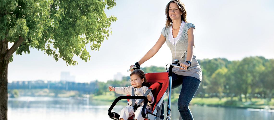 Велосипед с коляской: взрослый вариант для мамы и ребенка, трансформер с детской коляской спереди, продукция lexus