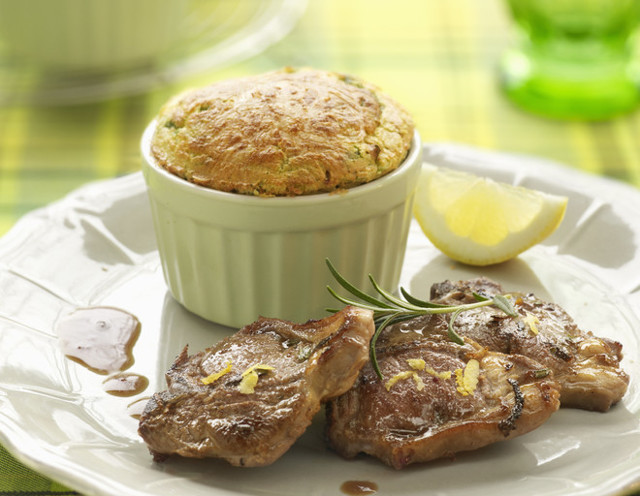 Пошаговый рецепт мясного суфле для ребенка