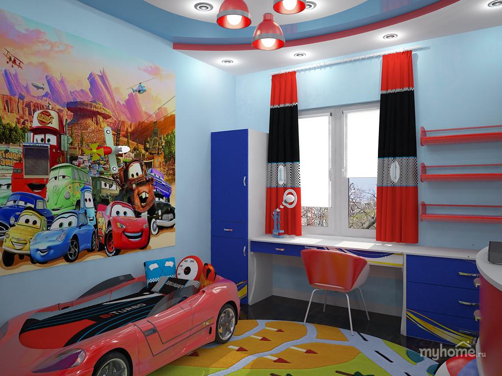 Какие выбрать обои для подростковой комнаты мальчика: 41 фото отличных детских комнат с фотообоями