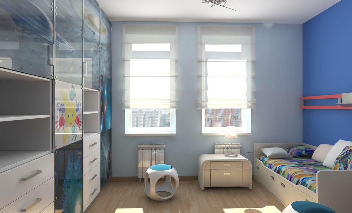 Детская 12 кв. м. — примеров функционального и стильного оформления детской комнаты (105 фото)