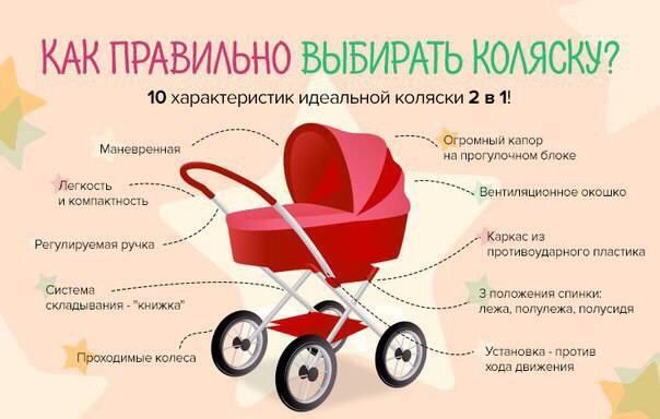 Как выбрать коляску для новорожденного ребенка: советы и рекомендации