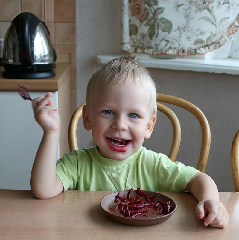 Свекла для детей полезна или нет ? свекольный сок