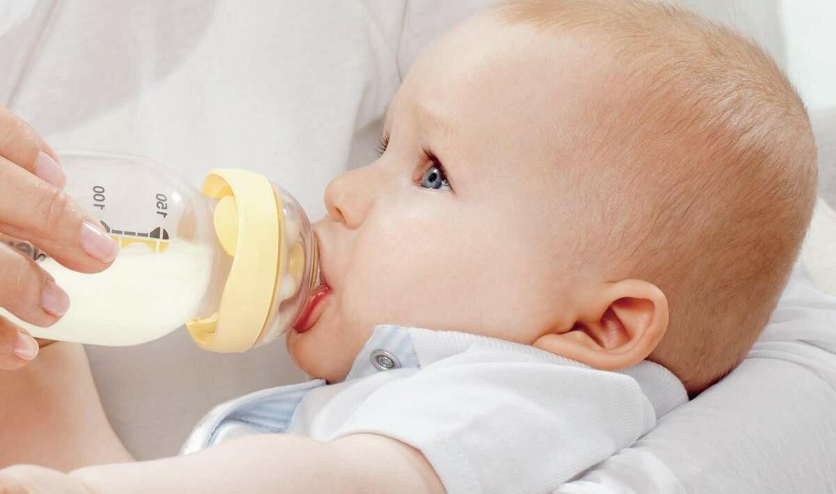 Как правильно кормить новорожденного из бутылочки: смесью, молоком