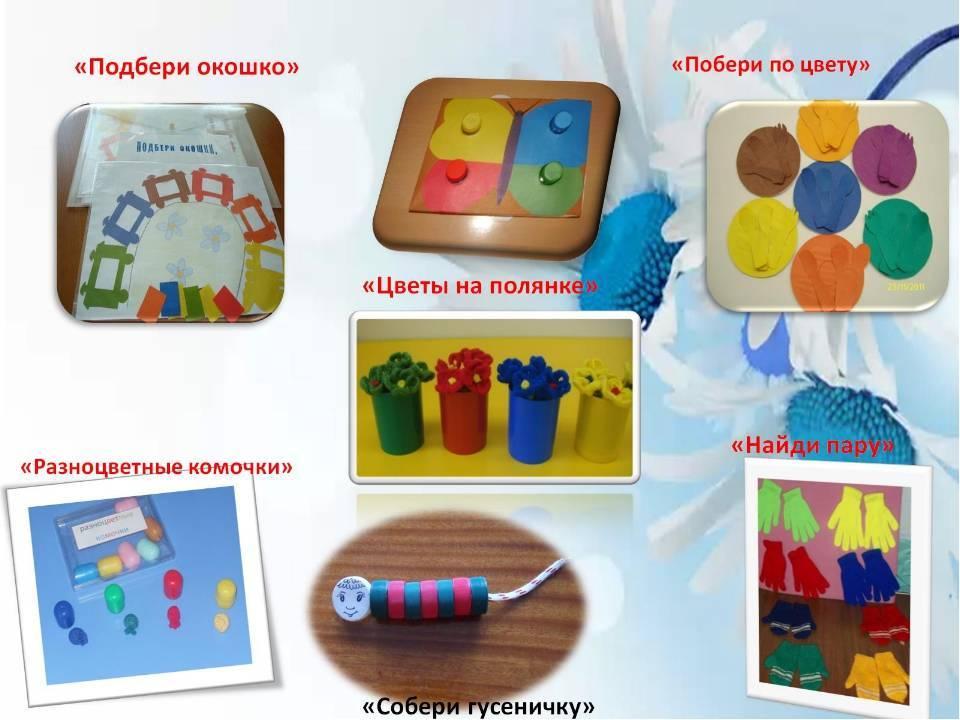 Опыт работы «сенсорное воспитание детей раннего возраста посредством дидактической игры»