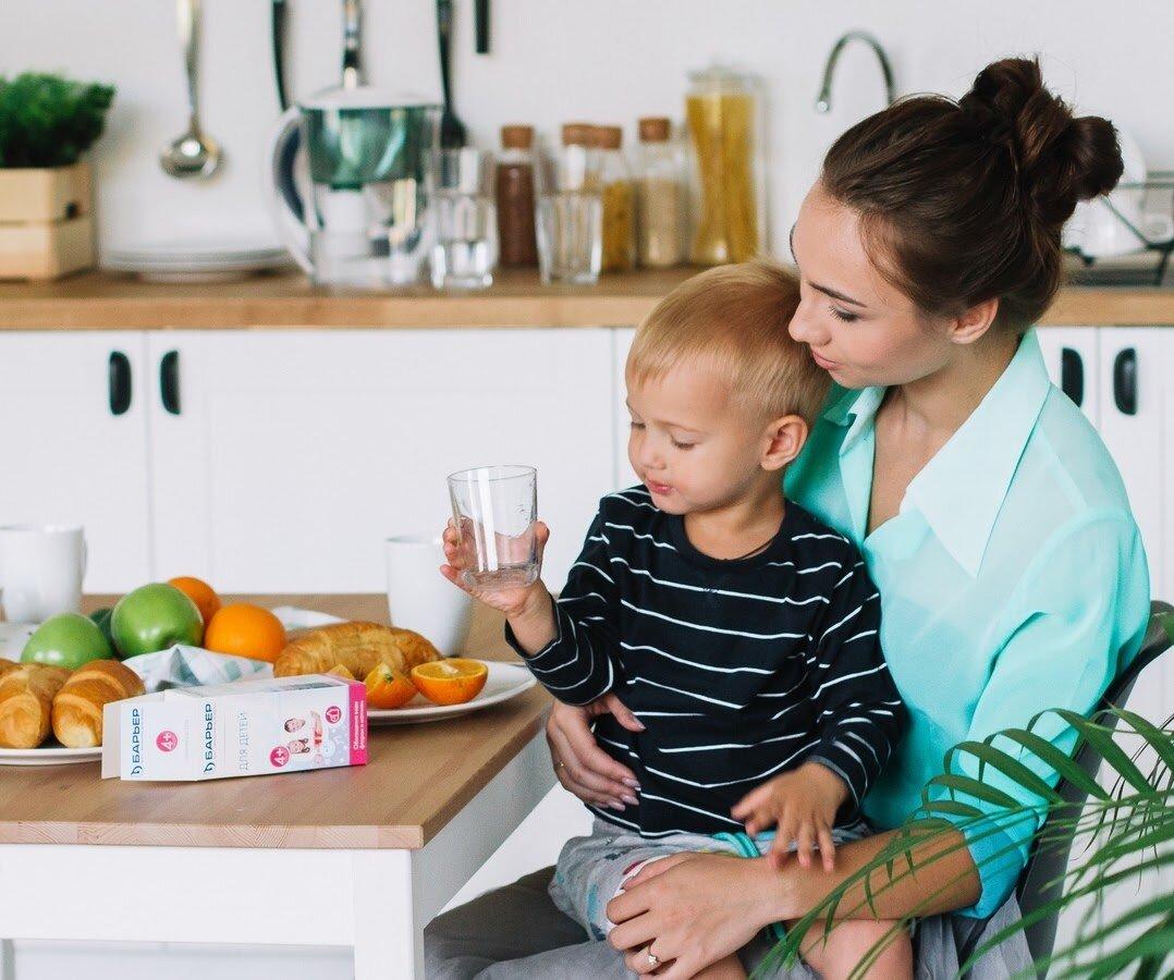 Для укрепления иммунитета грудному ребенку