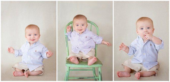 Развиваемся по месяцам – во сколько ребенок должен сидеть?