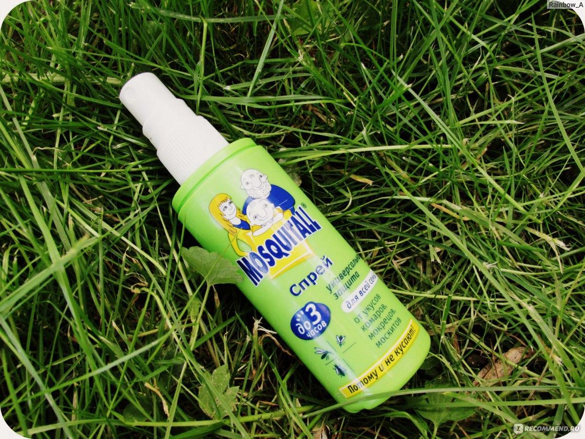 Профилактика укусов комаров и мошки у детей