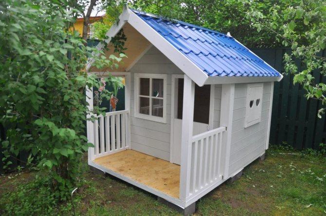 Детский домик для дачи: 50 фото-идеи и инструкция для строительства