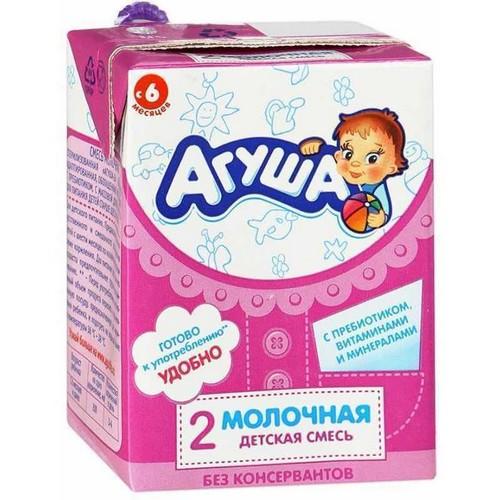 Адаптированная кисломолочная смесь агуша: настоящая находка для мам и малышей