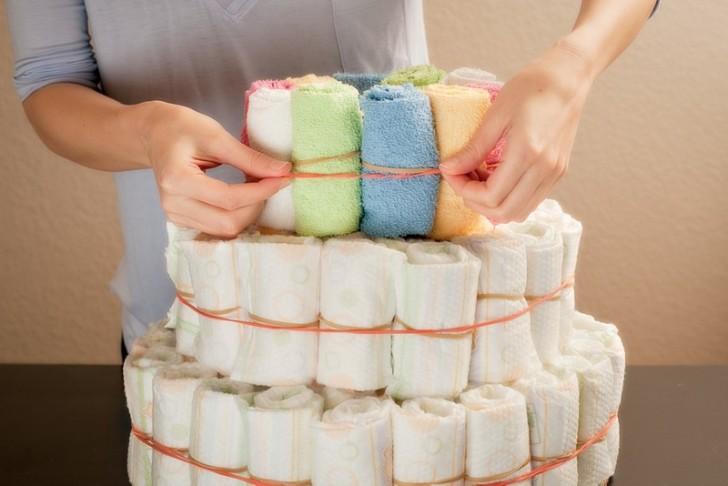 Торт из памперсов: 115 фото лучших идей и решений для девочек и мальчиков