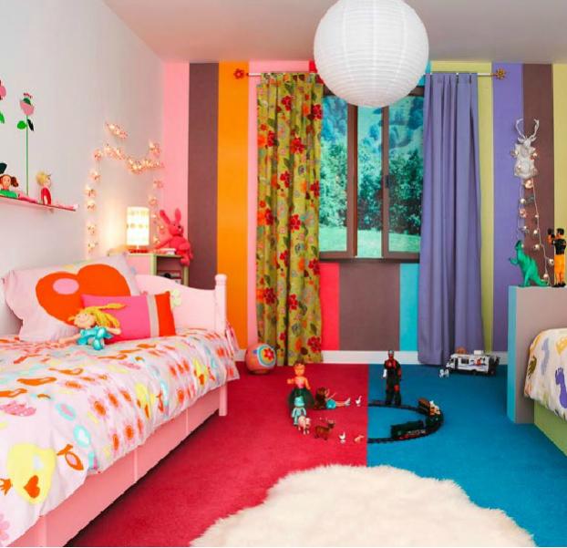 Особенности дизайна комнаты для детей разного пола