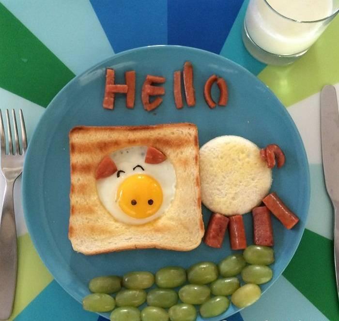 Завтрак для ребенка в 2 года: рецепты вкусных и полезных блюд