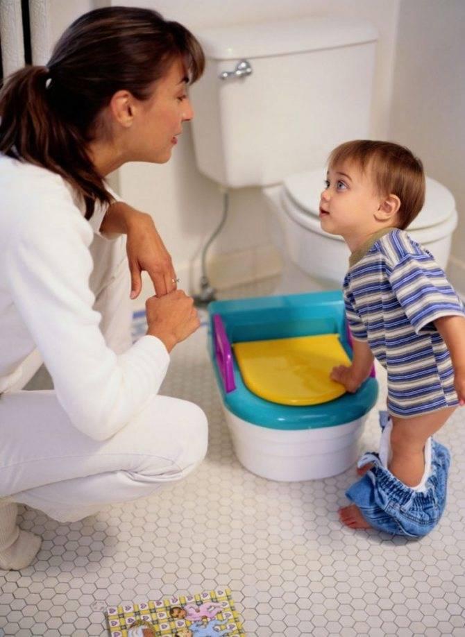 Как приучить ребенка к горшку за 7 дней по комаровскому