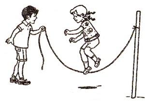 Как укрепить здоровье ребенка, играя в подвижные игры со скакалкой