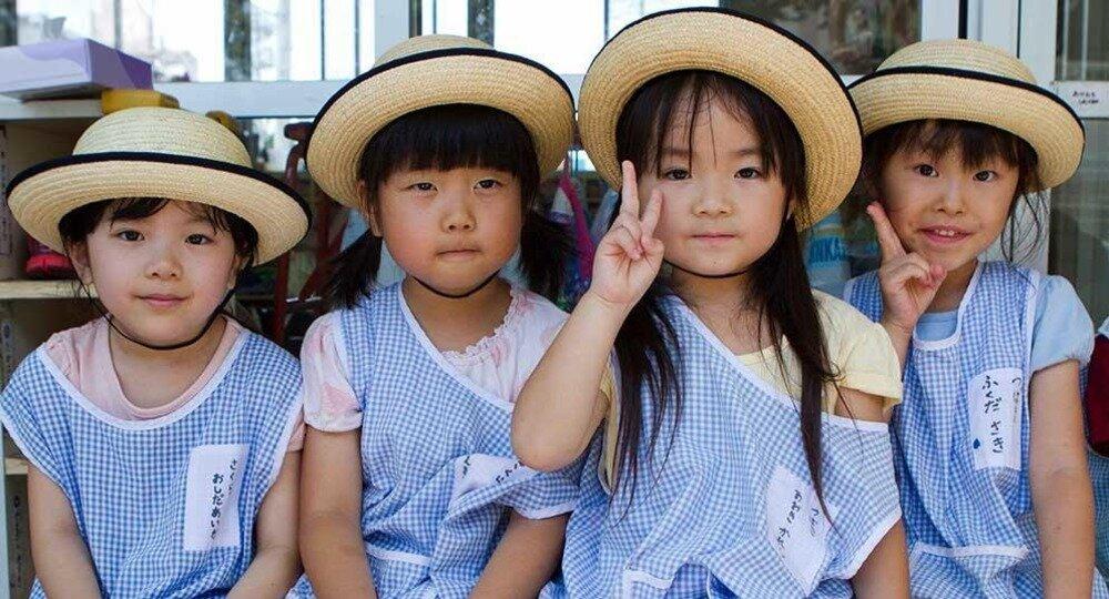 Воспитание детей в японии