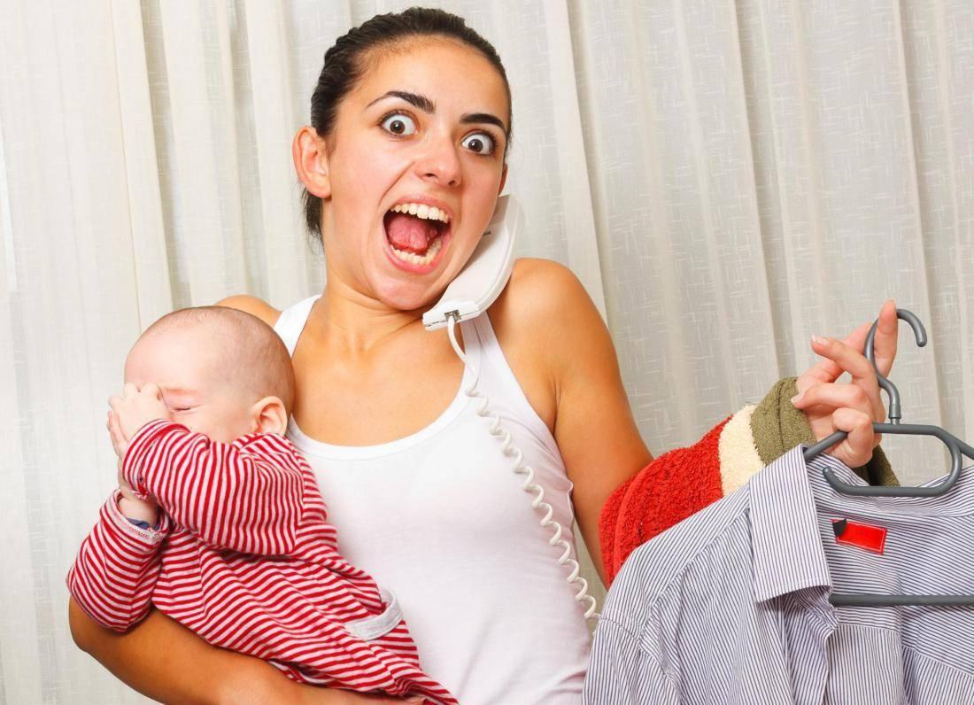 Как справиться с усталостью после родов?