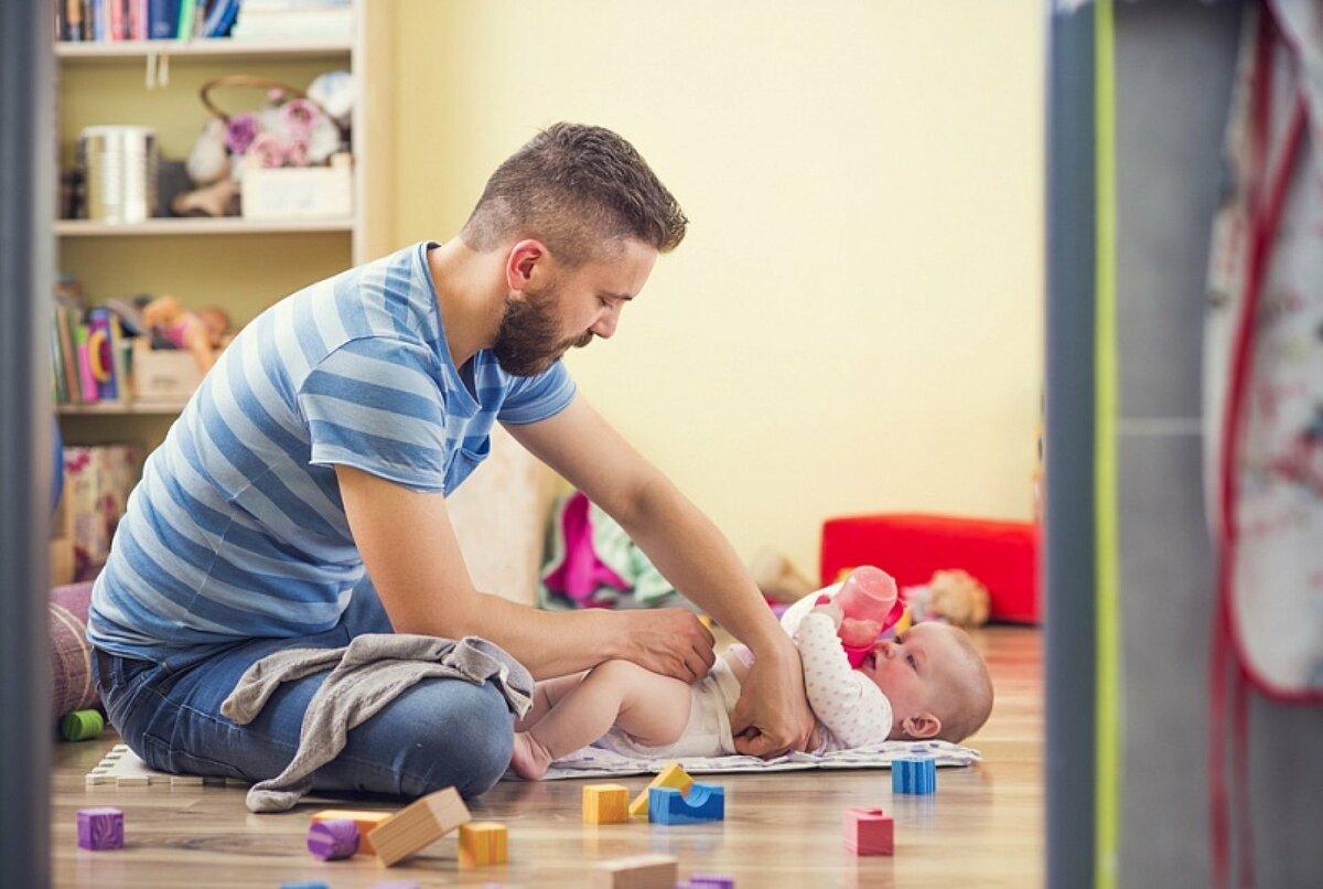 Мама в больнице: как папе справляться с грудным ребенком |