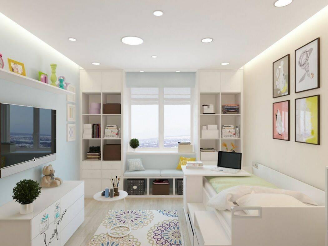 Как оформить интерьер комнаты площадью 14 кв. метров