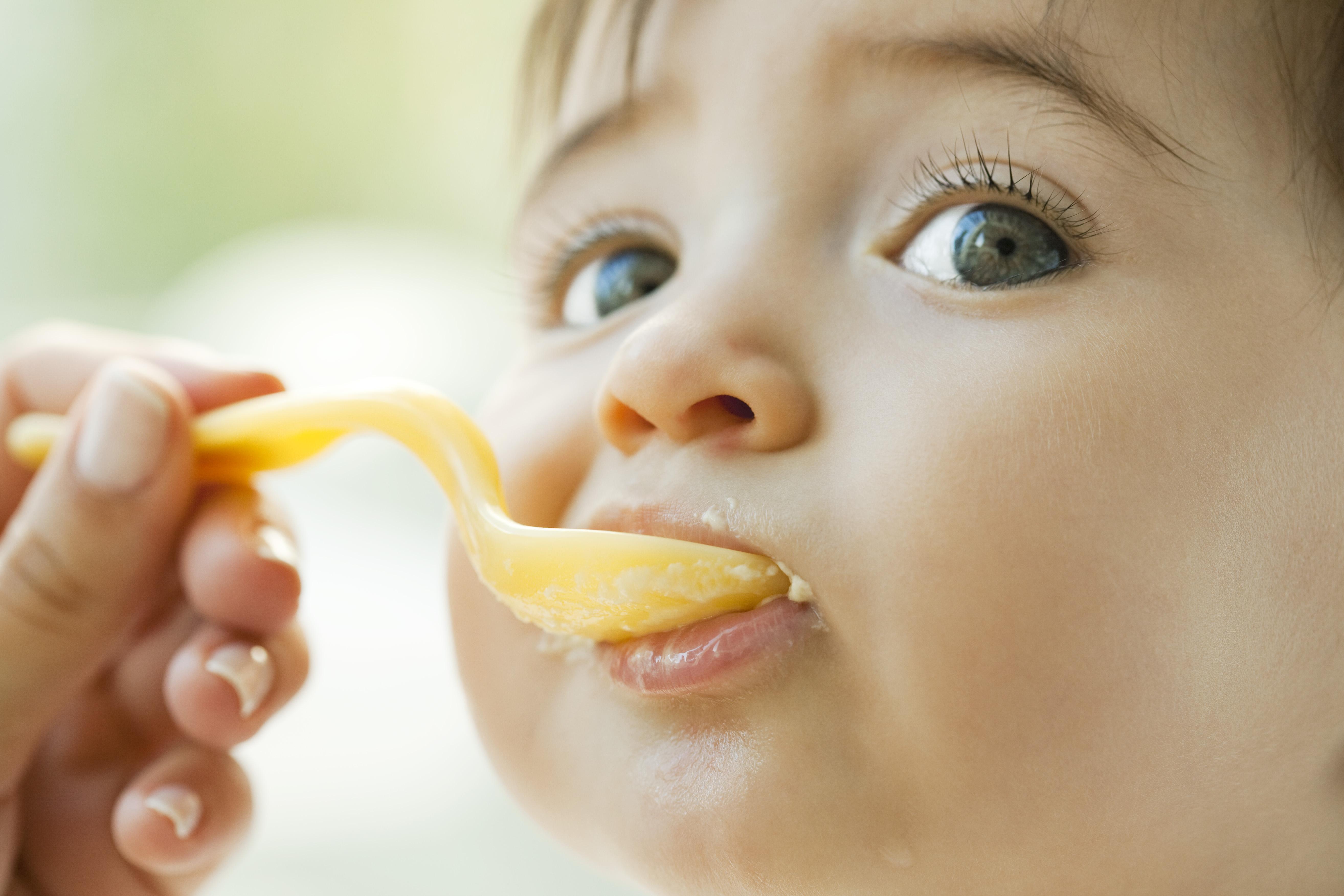 Ребенок не ест прикорм в 7 месяцев | уроки для мам