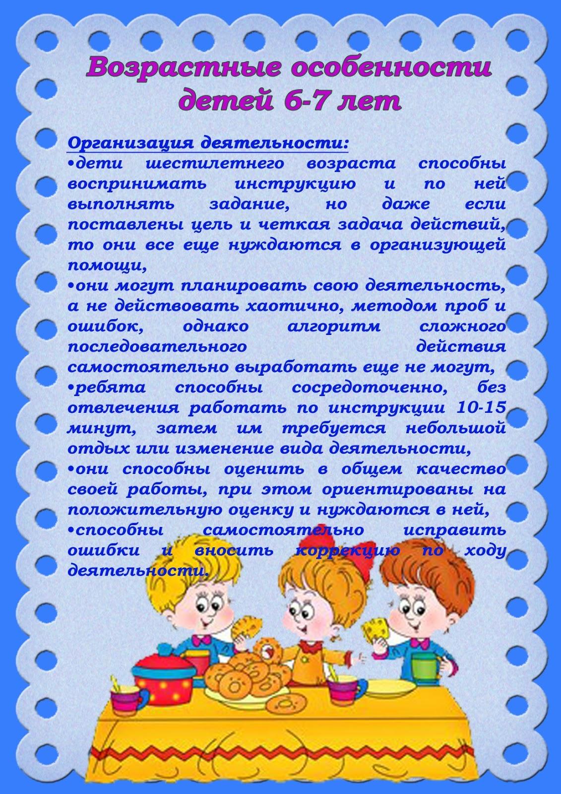 Возрастные особенности детей 2-3 лет (ясельная группа) | детская психология