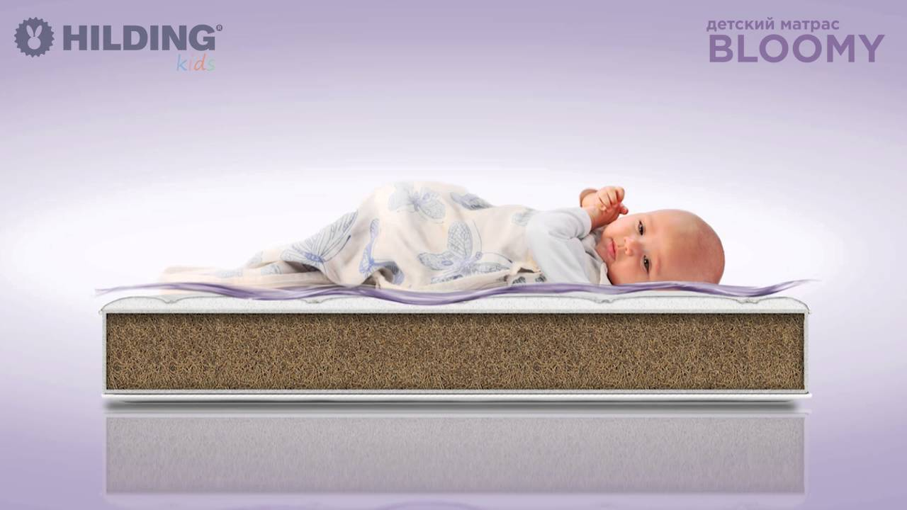 Как выбрать матрас для новорожденного? советы и примеры