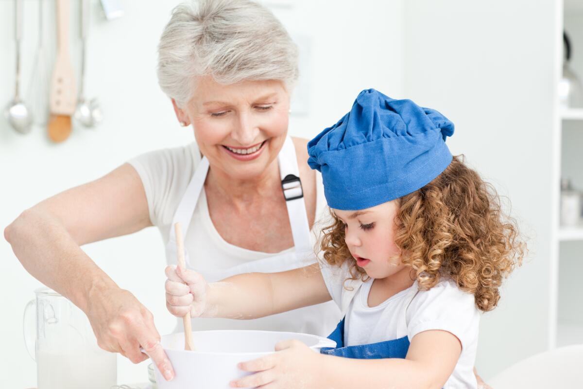 Почему бабушек надо привлекать к воспитанию внуков. бабушки и дедушки