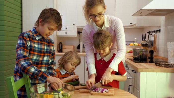 Чем занять ребенка на кухне?
