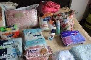 Сумки в роддом - список по пакетам