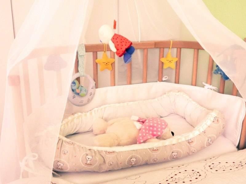 Украшаем детскую кроватку к приезду малыша