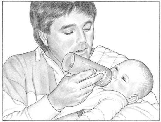 Как кормить ребенка сцеженным грудным молоком из бутылочки