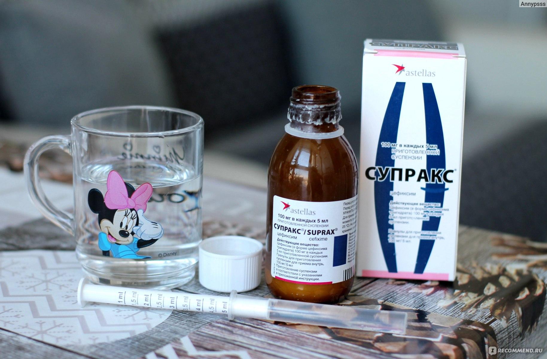 Супракс: инструкция по применению для детей и взрослых, действующее вещество, формы выпуска, аналоги антибиотика