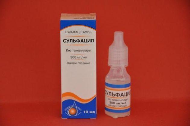 Глазные капли сульфацил в нос: показания и эффективность