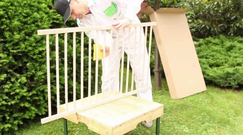 Как покрасить деревянную детскую кровать