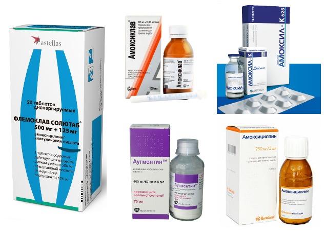 Какие антибиотики при простуде эффективны для взрсолых, ребенка: список и названия