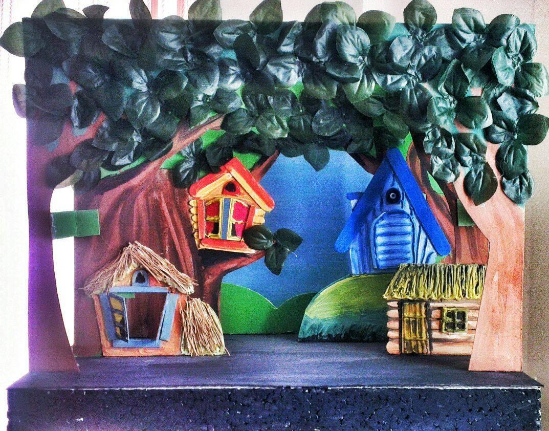 Домашний кукольный театр – веселое путешествие в сказочный мир - иркутская городская детская поликлиника №5