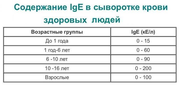 Иммуноглобулин е: норма у детей и взрослых, инструкция по применению иммуноглобулина человеческого нормального