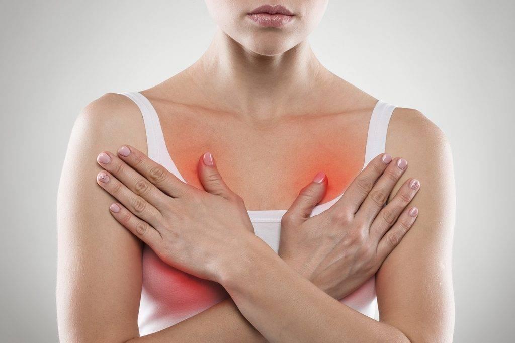 Частая жалоба женщин: месячные прошли, а грудь болит