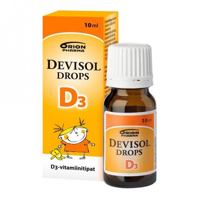 Неоднозначный витамин д для здоровых новорожденных: польза и вред