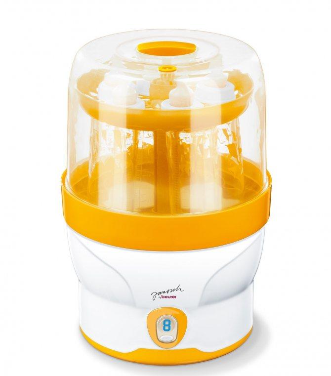Как выбрать стерилизатор бутылочек и детских принадлежностей, рейтинг лучших