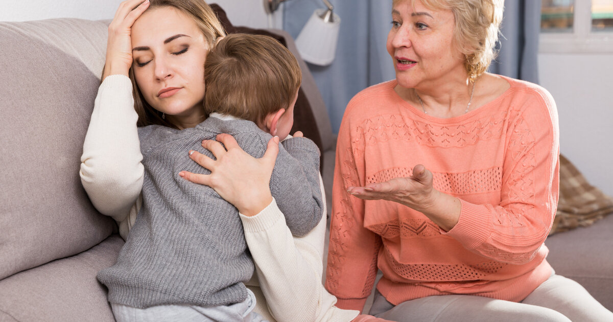 Почему ребенку нужна бабушка: 5 веских причин