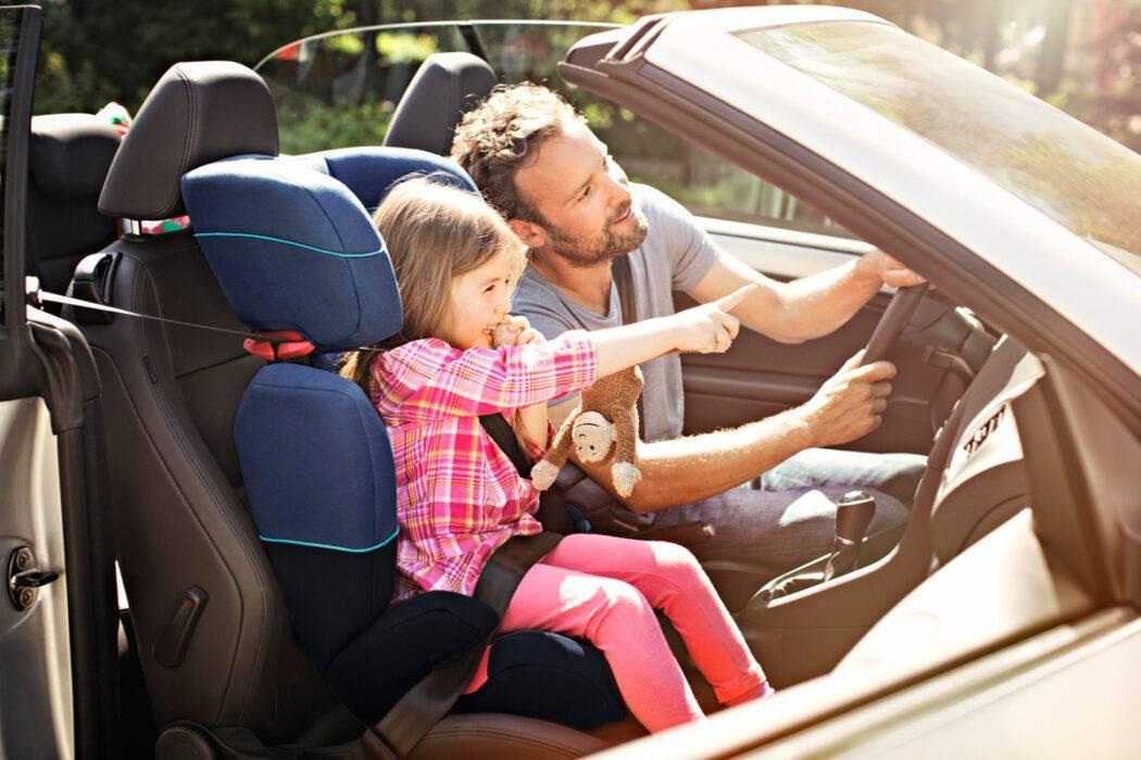 Разрешена ли перевозка детей на переднем сиденье в 2018 году